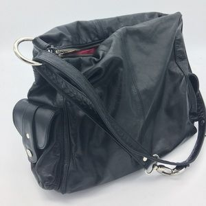 Another Barrie Leather Shoulder Bag